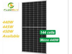 태양 전지판 단청 Perc 9bb 430W. 440W. 450W PV 위원회, 광전지 위원회, 태양 모듈