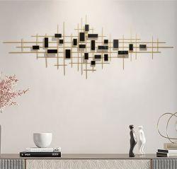 Low-Key 3D de lujo el hierro forjado Salón Dormitorio DECORACIÓN Decoración de pared