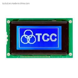 LCD IC S6b0107 또는 S6b0108를 가진 파란 전시 옥수수 속 12684 LCM 모듈 128X64 점 행렬 LCD 스크린