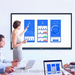 """Groot formaat 65"""" ~ 100"""" Elektronisch Whiteboard systeem Interactieve Flat Panel voor Double Purpose Conference Meeting & Education Class"""