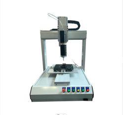 자동화된 소형 데스크탑 정밀 3축 접착 기계 백색 글루 UV 플라스틱 블루 글루 자동 교부 기계 모든 종류의 소형 기계 OEM ODM