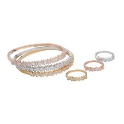 Crystal CZ Stone 2020 Nouveau Design de Mode bijoux Set Bracelet Bangle