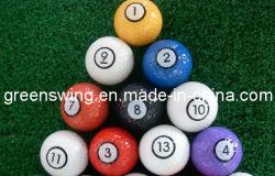 Bunter und neuer Entwurfs-Billiard-Golfball