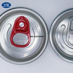 Commercio all'ingrosso 50mm diametro 202 n. 200 Sot Personalizza Stampa sottile sottile Stubby Color birra in alluminio bevanda succo bevanda Soda Easy Open Tappo
