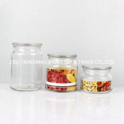 Reeks 3 de Kruik van de Opslag van het Glas 300ml 500ml 700ml voor Keuken