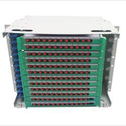 Monut 144 Ports Rack SC Fibre Optique LC FC St bâti de distribution