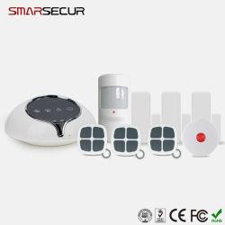 Android Market/APP IOS 3G WCDMA de Controle do Sistema de Alarme de Segurança Sem Fio em Casa