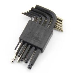 ハードウェアのカートンの鋼鉄12PCS HEXキーの一定のHandtoolのレンチセット