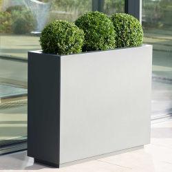 Pot de fleur/soulevées Jardin lit/métal carré Planter Box/ aluminium soulevées lit/semoir jardin jardin
