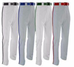 昇華させたロゴのスポーツ・ウェア専門デザイン野球のズボン