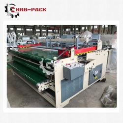 Prensa Semi-Auto Gluer Box Machine, máquina de caja de encolado, caja de cartón corrugado Gluer carpeta; la caja de cartón máquina