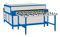 Productielijn voor horizontaal isolatieglas voor vlakglasreiniging