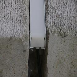 T8-T10 6063 알루미늄 LED 프로파일 저항성 3톤 알루미늄 프로파일 실외 LED 선형 조명을 위해 어두운 곳 없이 돌출된 곳
