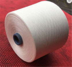 Textile fil cardé 100% coton fils de polyester DTY fils TC