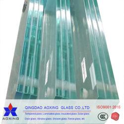Tienda de la fábrica transparente templado vidrios decorativos Arte