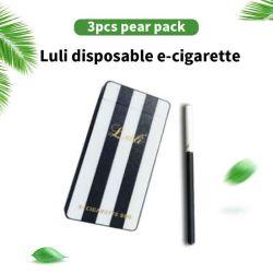 Pacchetto di sguardo di lusso del regalo della sigaretta elettronica dell'atomizzatore E della sigaretta di E, sigaretta ricaricabile su ordinazione di e