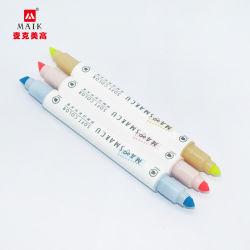 Material escolar Papelaria Aquarela cores Fabricante Caneta 87602 Caneta fluorescente