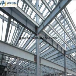 Instalação fácil galvanizados a quente da estrutura de aço para aves de capoeira House
