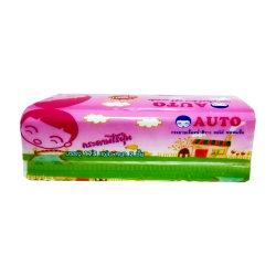 Pak 100% van het Weefsel van het huishouden het Beschikbare Papieren zakdoekje van het GezichtsWeefsel van de Houtpulp