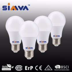 A60 E27 7W lâmpada LED Dim com marcação e RoHS