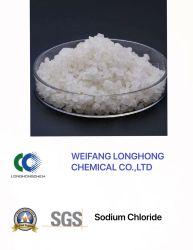 Las ventas de exportación / en línea con la demanda del cliente de cloruro de sodio Nacl / / Industrial sal utilizada en la fundición de mineral Nº CAS 7647-14-5