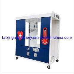 На заводе Custom дезинфекции туннеля дезинфекции литникового канала стерилизатор для вентиляции салона кабины для мобильных ПК с помощью колеса