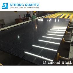 Weiß/Schwarzes/roter/blauer/grauer Stern-Quarz-Stein von Foshan China