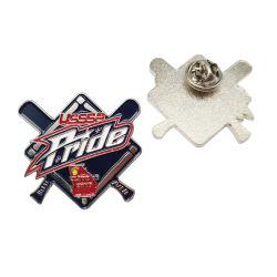 Professional programável personalizadas em esmalte Aniversário Award Acessórios de decoração Loja Badge Debossed Metal Artesanato Logotipo presente de promoção dos pinos de lapela (PL06-C)