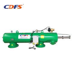 水ポンプの用水系統のための自動後流油圧フィルター
