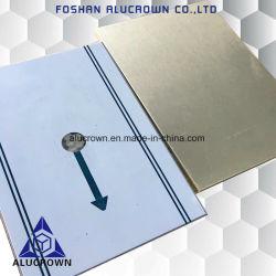 Comitato di alluminio del favo del rivestimento di PVDF per la decorazione della parete