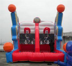 Jeux de tir de la fièvre de basket-ball gonflable, jeux de sport gonflables B604