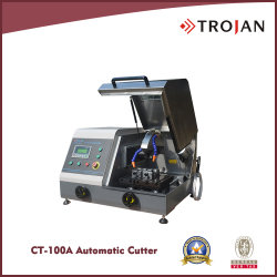 CT 100A de Veranderlijke Snijder van de Zaag van de Snelheid Automatische Metallographic Schurende voor de Voorbereiding van de Steekproef