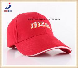 100%Heavyによってブラシをかけられる綿のあや織りサンドイッチ野球帽、スポーツ帽子、トラック運転手の帽子