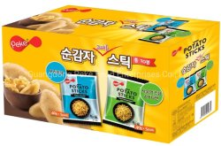 Food-Seasalt/Cebolinha/Pronto salgado/Fumador/CHURRASCOS Ketchup/Sal&Vinagre batatas em palitos/Batatas/Papas Fritas/Papas (FDA/SES/BRC/HACCP/ISO aprovado)
