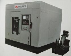 中国CNCの2カッターが付いているまっすぐな斜めギヤフライス盤