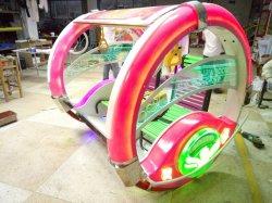 Machines van de Ritten van de Auto van Lebar van de Schommeling van de Auto van Moonwalk van de Machine van het Spel van de Auto van het vermaak de Gelukkige