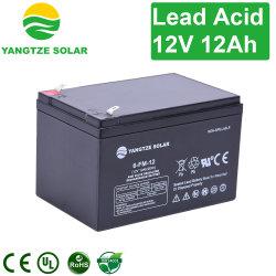 Faible auto-décharge batterie plomb-acide Yangtze 12V 12Ah de l'AGA