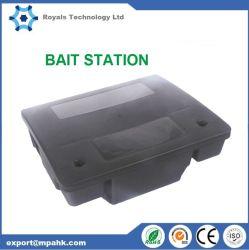 Tunnel Rat isco do mouse na caixa da estação de controle de roedores se livrar de camundongos Rat assassino de interceptação de plástico preto