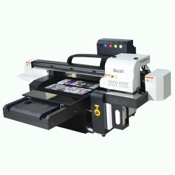 Tecjet Dx5, dx7, XP600 6090 do cabeçote de impressão plana UV máquina de impressão chinês impressora a jato de tinta