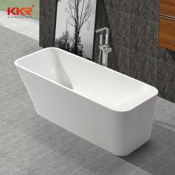 Hôtel cinq étoiles de la conception de la résine composite de pierre en fonte Baignoire Salle de bain en marbre artificiel