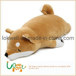 Cuscino molle di figura degli animali farcito cane della peluche
