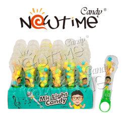 Helles Spielzeug der Fackel-NTT17111 mit süsser bunter Frucht-Aroma-Süßigkeit