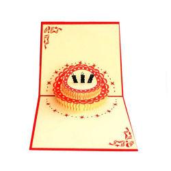 Carte de voeux personnalisée écologique coloré des cartes de voeux de mariage