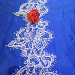 Мода дизайн белого устраивающих Guipure кружева фрезерование кузова