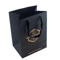 Personnalisé de haute qualité feuille chaude Logo d'estampage sac de papier