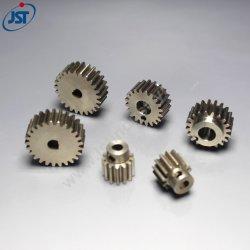 Engrenagem Cilíndrica de Aço Carbono com precisão a engrenagem do pinhão para o Motor