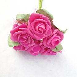 제조자 공급 인공 고무 거품 결혼식 홈 장식용 꽃