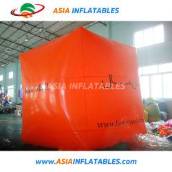 Cubo de la plaza de PVC inflable globo con logotipo para promoción
