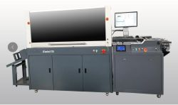 디지털 자동적인 3D 반점 UV 코팅 기계 Vkd370