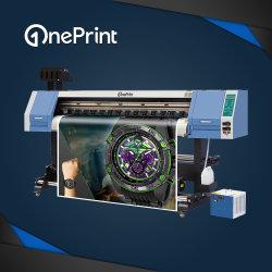 Oneprint 1,8 м УФ-1800 с рулона на рулон широкоформатные УФ-принтер